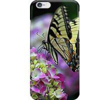 Butterfly on Hydrangea iPhone Case/Skin