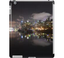 Coal Harbour at Twilight iPad Case/Skin