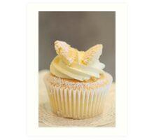 Cupcake for one Art Print