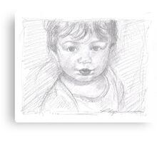 Little Boy Blue Canvas Print