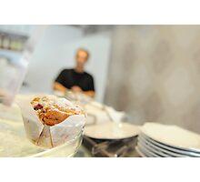 Muffin break Photographic Print