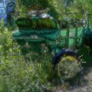 Retired Farm Wagon by wiscbackroadz