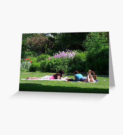 Lazy Afternoon Greeting Card