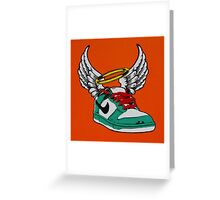 Dunk from above Greeting Card