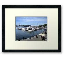 Inner Harbour, Victoria Framed Print