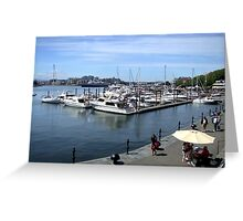 Inner Harbour, Victoria Greeting Card