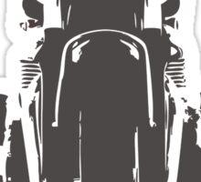 retro bike Sticker