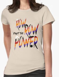 [Gurren Lagann] KAMINA ROW ROW FIGHT THE POWER Womens Fitted T-Shirt