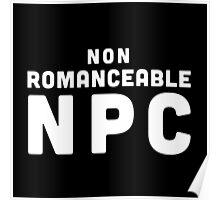 Non-Romanceable NPC Poster