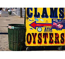 Clams and Oysters Photographic Print
