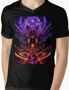 """The Key is within"" Mens V-Neck T-Shirt"