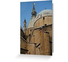 Basilica of St. Anthony Greeting Card