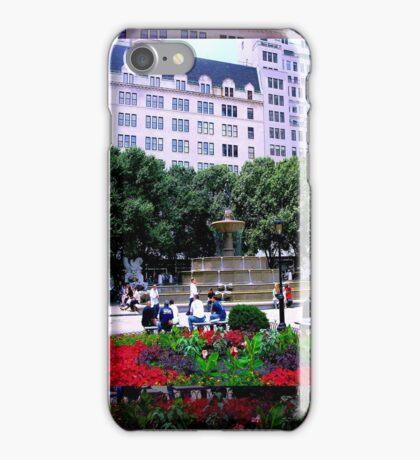 Plaza Hotel/Fountain, NYC, NY iPhone Case/Skin