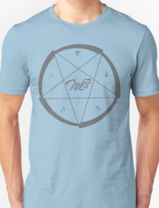Lucas Darklord Summoning 1 Grey Print T-Shirt