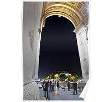 Under Arc de Triomphe Poster