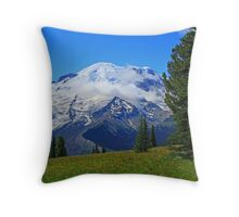 The Sound of Music on the Mountain Throw Pillow