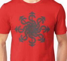 Lucas Darklord Chao$ Logo 1 Grey Print Unisex T-Shirt