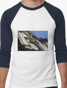 Building Facade 1 Men's Baseball ¾ T-Shirt