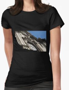 Building Facade 1 Womens Fitted T-Shirt