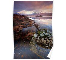 Black Mount from Loch Ba, Rannoch Moor Poster