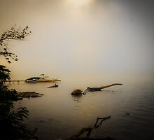 Foggy Morning on the Ohio by Jeanne Sheridan