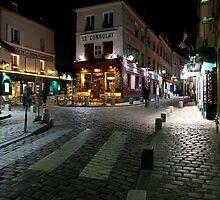 Streets of Montmartre by Alexander Davydov