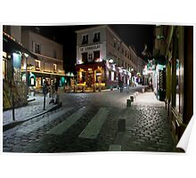 Streets of Montmartre Poster