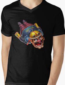 Wario Mens V-Neck T-Shirt