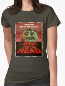 Shoot for the Head Womens Fitted T-Shirt