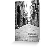Barcelona 12 Greeting Card