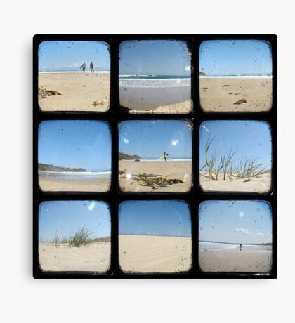 A Day at the Beach - TTV Collective Canvas Print