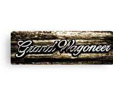 Grand Wagoneer Canvas Print