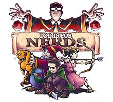 D&D is For Nerds Photographic Print
