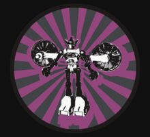 Microbot - Magenta by Phantom Spaceship Design