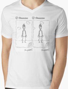 Dimensions Mens V-Neck T-Shirt