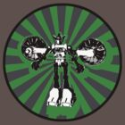Microbot - Green by Phantom Spaceship Design