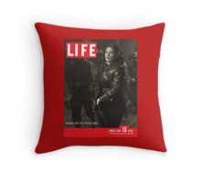 Peggy Carter Life Magazine Cover Throw Pillow