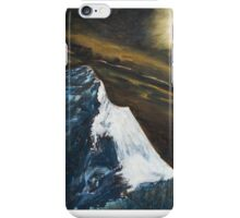 Mt. Everest by moonlight iPhone Case/Skin