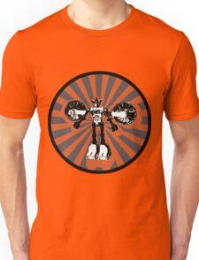 Microbot - Orange Unisex T-Shirt