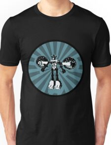 Microbot - Blue Ice Unisex T-Shirt