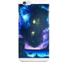 Echoes: Dance of the Moon Jellyfish iPhone Case/Skin