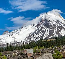 Mt Hood From White River by Zigzagmtart