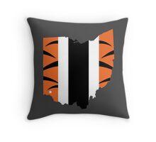 #WhoDey Throw Pillow