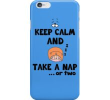 Take a Nap.. or two iPhone Case/Skin