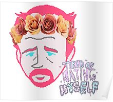 Tumblr Girl Louie CK Poster