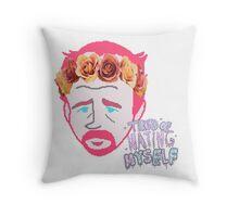 Tumblr Girl Louie CK Throw Pillow
