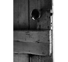 Latch Photographic Print