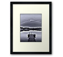 ten summers and a fall (mag/bl) Framed Print