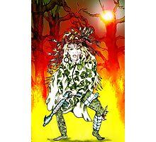 Fantasy War Female. Photographic Print