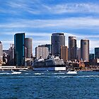 Sydney Skyline Panorama by Chris  Randall